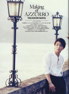 TAKANORI IWATA [Making of AZZURRO]