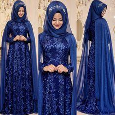 2018 Hijab Velvet Evening Dress Models, www. Modern Hijab Fashion, Indian Fashion Dresses, Islamic Fashion, Muslim Fashion, Beautiful Dress Designs, Stylish Dress Designs, Lovely Dresses, Stylish Dresses, Hijab Styles For Party