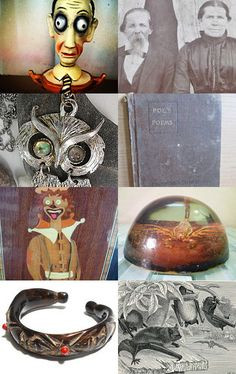 Happy Halloween From the GVS Team   by suburbantreasure on Etsy--Pinned with TreasuryPin.com