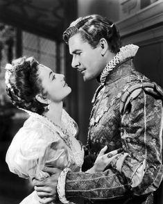 "Errol Flynn and Olivia de Havilland - ""The Private Lives of Elizabeth and Essex"" (1939)"