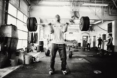 Johnathan Haynes from CrossFit Central/RedBlack Gym