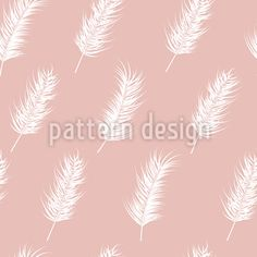 Girlish Tropical Leaves Pattern Design by Jelena Obradovic at patterndesigns.com