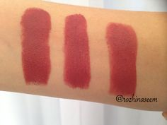 Drugstore Alternatives/ dupes to Mac lipstick in Twig, maybelline touch of spice, wet n wild spiked with rum