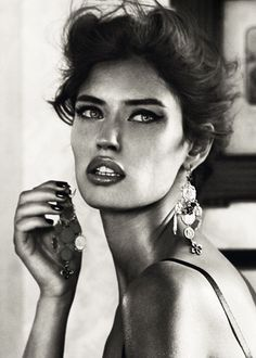 Steamy Hotel Room Shoots : Bianca Balti for Dolce & Gabbana Jewelry 2011