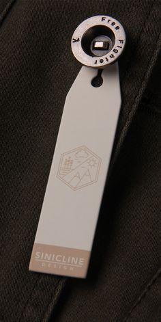 Sinicline hang tag design, paper hang tag. #hangtag #swingcard