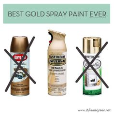 gold spray paint rating