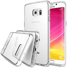 Ringke - Funda con protección parachoques TPU, choque absorción para Samsung Galaxy S6 Edge+ / Plus, color cristal claro - http://www.tiendasmoviles.net/2016/02/ringke-funda-con-proteccion-parachoques-tpu-choque-absorcion-para-samsung-galaxy-s6-edge-plus-color-cristal-claro/