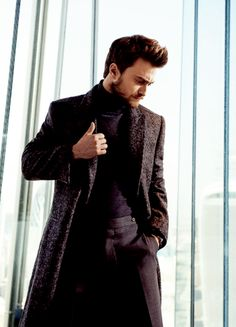 Daniel Radcliffe photographed by Alan Clarke for InStyle Man Russia (Autumn 2015)