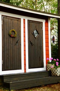 Garage Doors, Outdoor Decor, Home Decor, Decoration Home, Room Decor, Carriage Doors, Interior Decorating