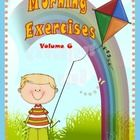 It's time to Rise and Shine with MORNING EXERCISES!  These ready to go activities are perfect for starting the day with a routine or they may be us...