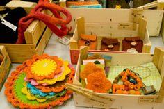Handicrafts at Elonkehrä Christmas Market