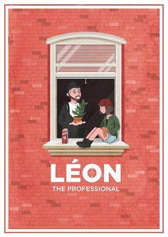 Léon: The Professional - movie poster - Maria Suarez Inclan