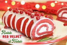Il rotolo red velvet di Nataleè un semplicissimo rotolo di pasta biscotto dedicato al Natale, infatti, il suo aspetto ne...