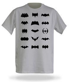 Batman All Logos Awesome T-Shirt – Wear The Dark Knight $30.99