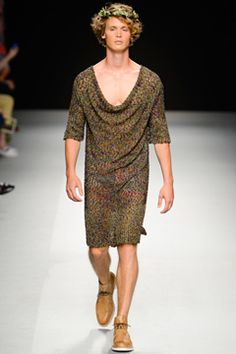 Vivienne Westwood Spring 2013 Menswear Collection on Style.com: Complete Collection