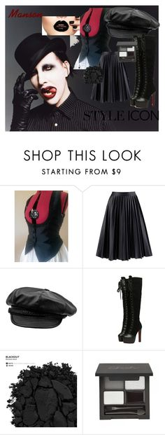 """Style Icon - Manson"" by jessieholloway13 on Polyvore featuring Urban Decay"