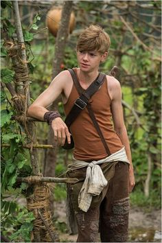 Thomas Brodie-Sangster as Newt in The Maze Runner Maze Runner Thomas, Newt Maze Runner, Maze Runner Movie, Maze Runner Series, Dylan Thomas, Dylan O'brien, Hunger Games, Msp Vip, Phineas Et Ferb