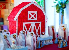Farm Animal Party, Farm Party, Farm Birthday, 1st Birthday Parties, Barn Parties, Meraki, Farm Animals, Ideas Para, Party Time