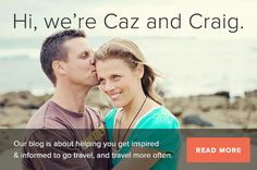 yTravel - Caz and Craig's travel blog.Currently road-tripping around Australia with two gorgeous kids. If you want to start really living, follow this blog!