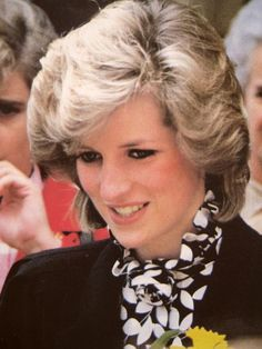 April 16, 1984: Princess Diana arrives to watch a rehearsal of the National Children's Orchestra at the Wellington College, Berkshire.