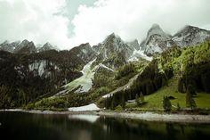 Gosau, Austria - it's so beautiful that it seems unreal!