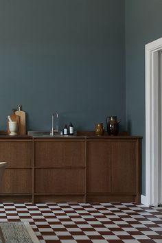 6 Most Beautiful Wooden Kitchens - Modern Kitchen Furniture, Kitchen Interior, Furniture Design, Home Kitchens, Wooden Kitchens, Arch Interior, Vintage Interior Design, Cuisines Design, Küchen Design