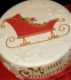 154 best Ideas for Christmas Family Chrismas Cake, Christmas Cake Topper, Christmas Cake Designs, Christmas Cake Decorations, Christmas Sweets, Holiday Cakes, Christmas Baking, Merry Christmas, Cake & Co