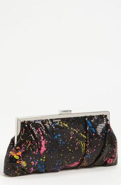 Jessica McClintock 'Graffiti' Clutch available at #Nordstrom