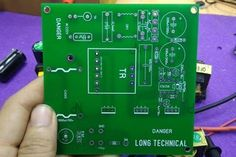 How to Build SMPS Transformer | Home Make 12V 10A Switching Power Supply: 6 Steps Electronics Gadgets, Tech Gadgets, Switched Mode Power Supply, Electronic Schematics, Pcb Board, Old Computers, Tech Gifts, Arduino, Transformers
