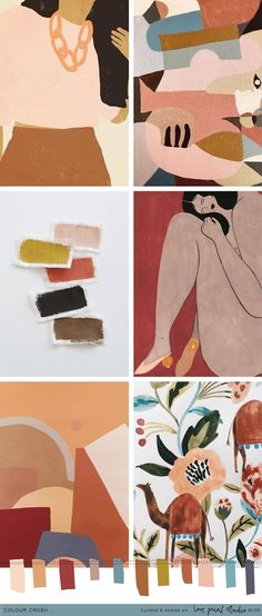 Flowers Print Wallpaper Colour Ideas For 2019 Print Wallpaper, Colorful Wallpaper, Flower Wallpaper, Earthy Color Palette, Colour Pallette, Earthy Colours, Gouache, Color Theory, Pantone Color