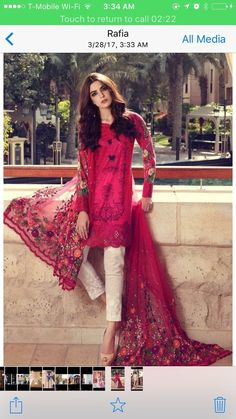 Buy Maria B Online In Pakistan Maria B Lawn Dress Design No. Maria B Replica Lawn Embroidered Suit – Unstitched  Embroidered Front  Printed Back Pakistani Couture, Pakistani Outfits, Indian Outfits, Pakistani Fashion 2017, Emo Outfits, Ethnic Fashion, Asian Fashion, Fashion Black, Lolita Fashion