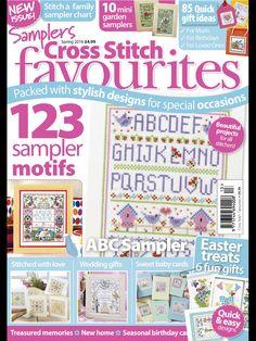Cross Stitch Favourites Samplers Spring 2016 Zinio