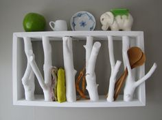 From TheTreeTop on Etsy! Love this shelf, and I need a few for my home.