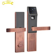 Door Key-less Wifi Lock Induction lock Factory Improvement for Hotel renovation Office upgrade glass doors Home safety wooden doors