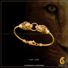Swarn Sri is now also at Hyderabad! Explore all new designer collections by Swarn Sri at Vijayawada & Hyderabad. Mens Gold Bracelets, Mens Gold Jewelry, Black Hills Gold Jewelry, Gold Jewelry Simple, Sterling Silver Jewelry, Gold Jewellery, Mens Silver Bangle, Snake Jewelry, Ruby Jewelry