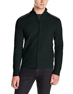 Victorinox Mahale Pine green full zip cardigan