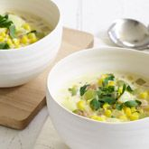 Corn, Bacon and Potato Chowder