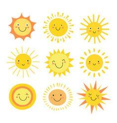 Sun emoji funny summer sunshine sun baby happy vector image on VectorStock Sun Emoji, Emoji Set, Sun Drawing, Drawing For Kids, Cute Drawings For Kids, Summer Humor, Funny Summer, Sonne Illustration, Sun Doodles