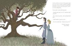 fleiadoes - Children illustration - il barone rampante - The baron in the trees - Italo Calvino