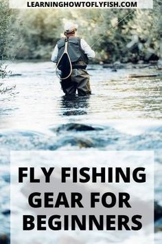 Fly fishing does not have to be ovewhelming. In this article we will discuss the basic fly fishing gear for beginners to be successful. Usa Fishing, Fly Fishing Gear, Fishing Life, Sport Fishing, Gone Fishing, Fishing Rods, Fishing Tackle, Trout Fishing Tips, Walleye Fishing