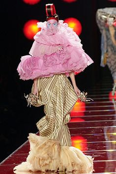 Christian Dior Spring 2003 Couture Fashion Show - John Galliano