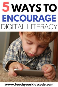 What is digital literacy and why is it important? In this post we will be talking all bout the benefits of digital literacy. Kids And Parenting, Parenting Hacks, What Is Digital, Digital Literacy, Coding For Kids, Toddler Learning, Teacher Hacks, Homeschool Curriculum, Kindergarten
