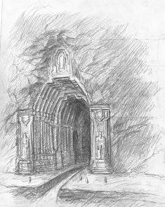 Front Gate sketch by TurnerMohan on DeviantArt
