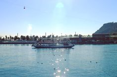Harbour front on Port Vell never disappoints on a sunny day like this. I actually really enjoyed the sun reflecting off the water even though it was so bright that it hurts my eyes to look out in this direction. The dreamy vision was somehow...comforting.  #barcelona #spain #port