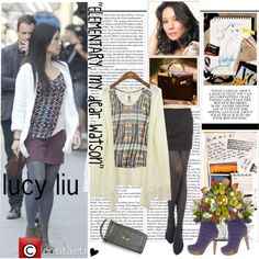 LUCY LIU IN ELEMENTARY ON CBS - Polyvore