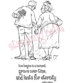 Stamping Bella Unmounted Rubber Stamp-Jack and Ginger, $9.09 (sale price); engagements and weddings