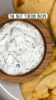 Greek Yogurt Sauce, Greek Yogurt Recipes, Tzatziki Sauce Recipe Greek Yogurt, Greek Yogurt Dips, Greek Lamb Recipes, Vegetarian Greek Recipes, Yogurt Dip Recipe, Mexican Salsa Recipes, Greek Yogurt Chicken