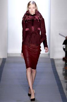 Peter Som Fall 2012 Ready-to-Wear Fashion Show - Melissa Tammerijn