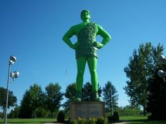 Jolly Green Giant Minnesota
