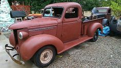 Chevrolet: Other Pickups shortbed 1939 chevy pickup truck all original never restored almost complete barn find
